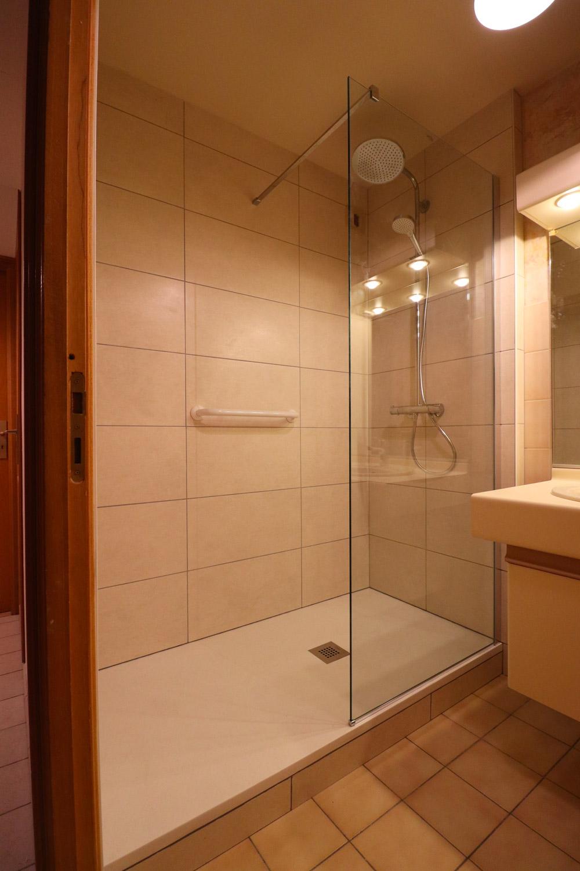 réalisation salle de bain douche italienne